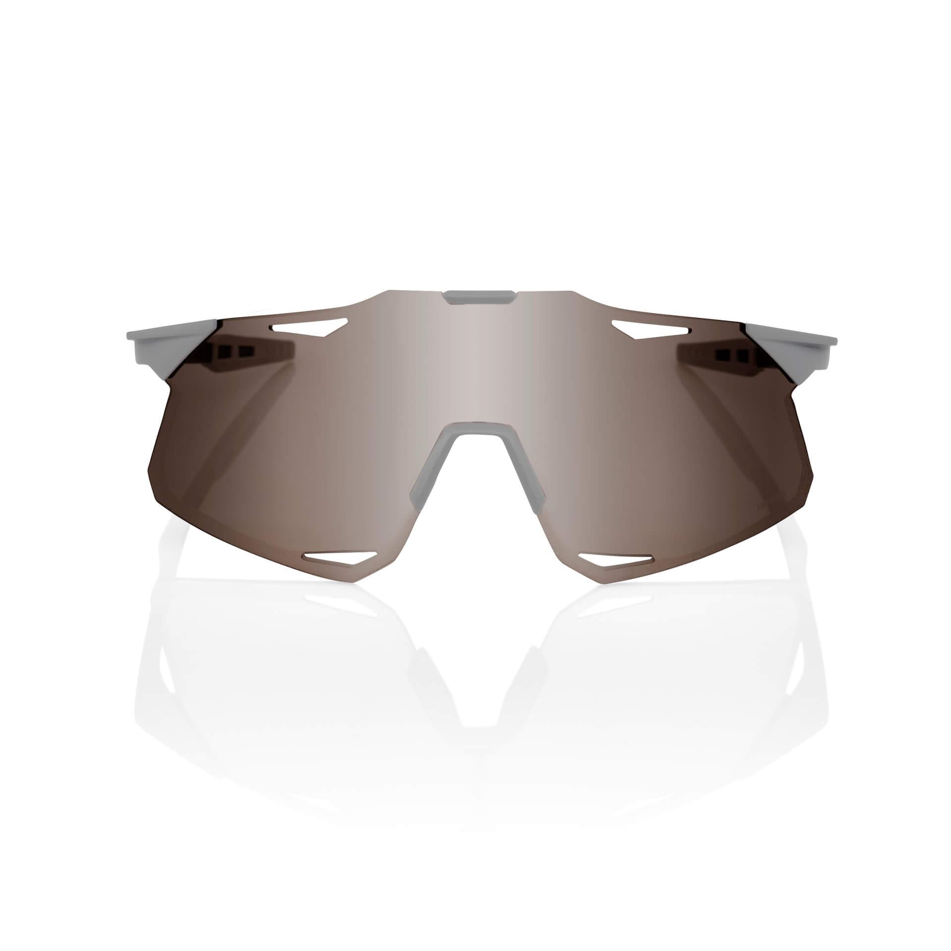HYPERCRAFT – Matte Stone Grey – HiPER Silver Mirror Lens