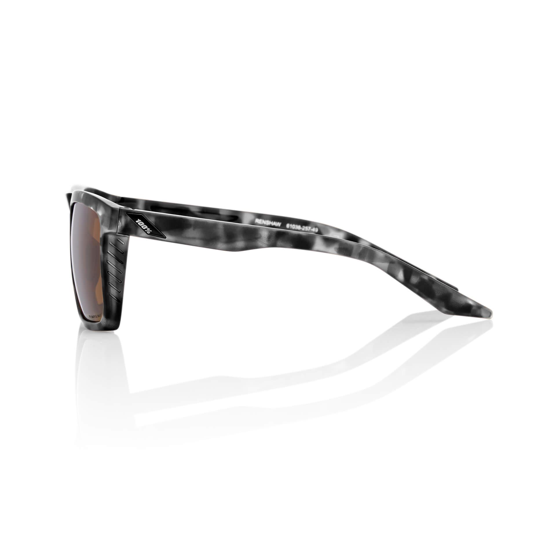 RENSHAW – Matte Black Havana – Bronze Lens