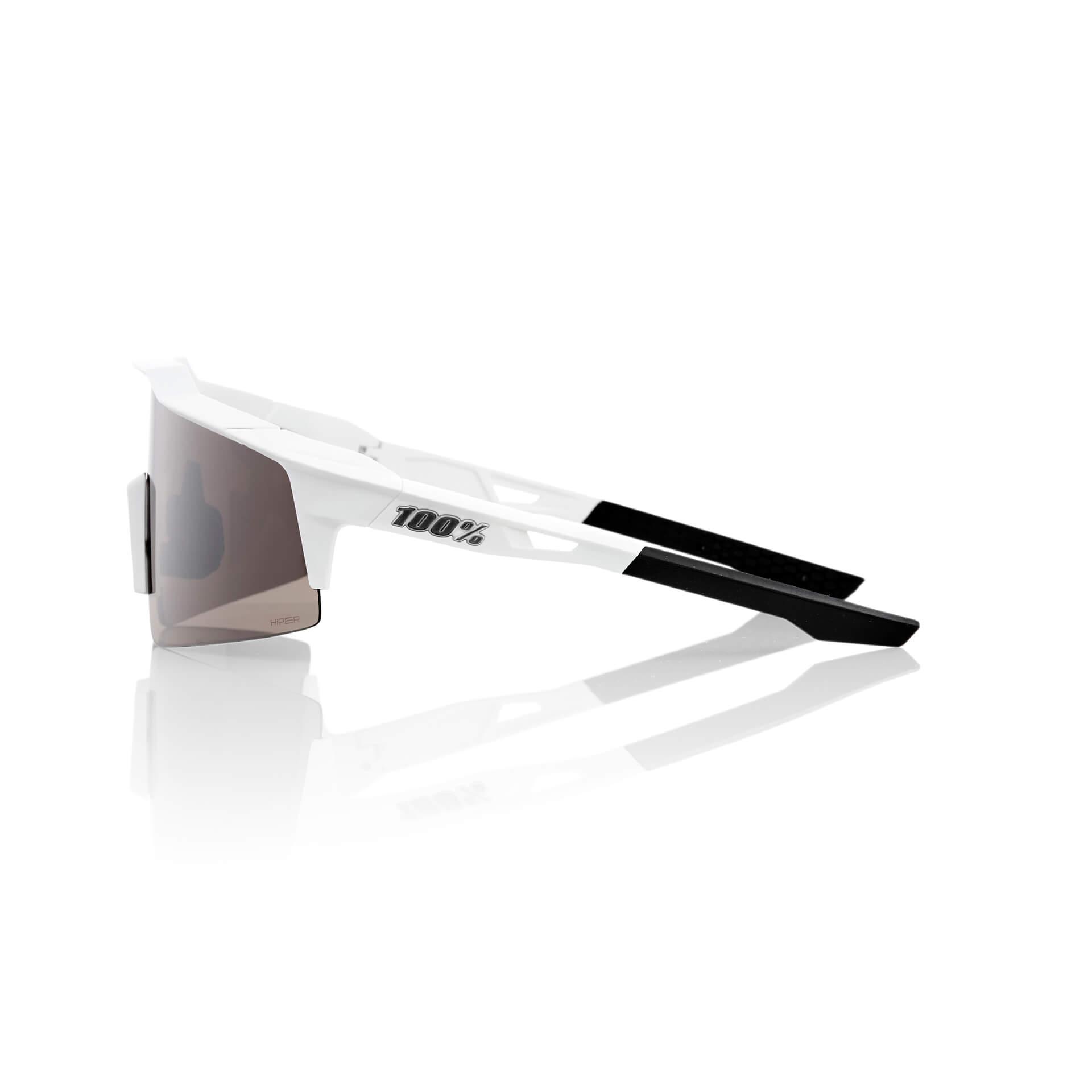 SPEEDCRAFT SL – Matte White – HiPER Silver Mirror Lens