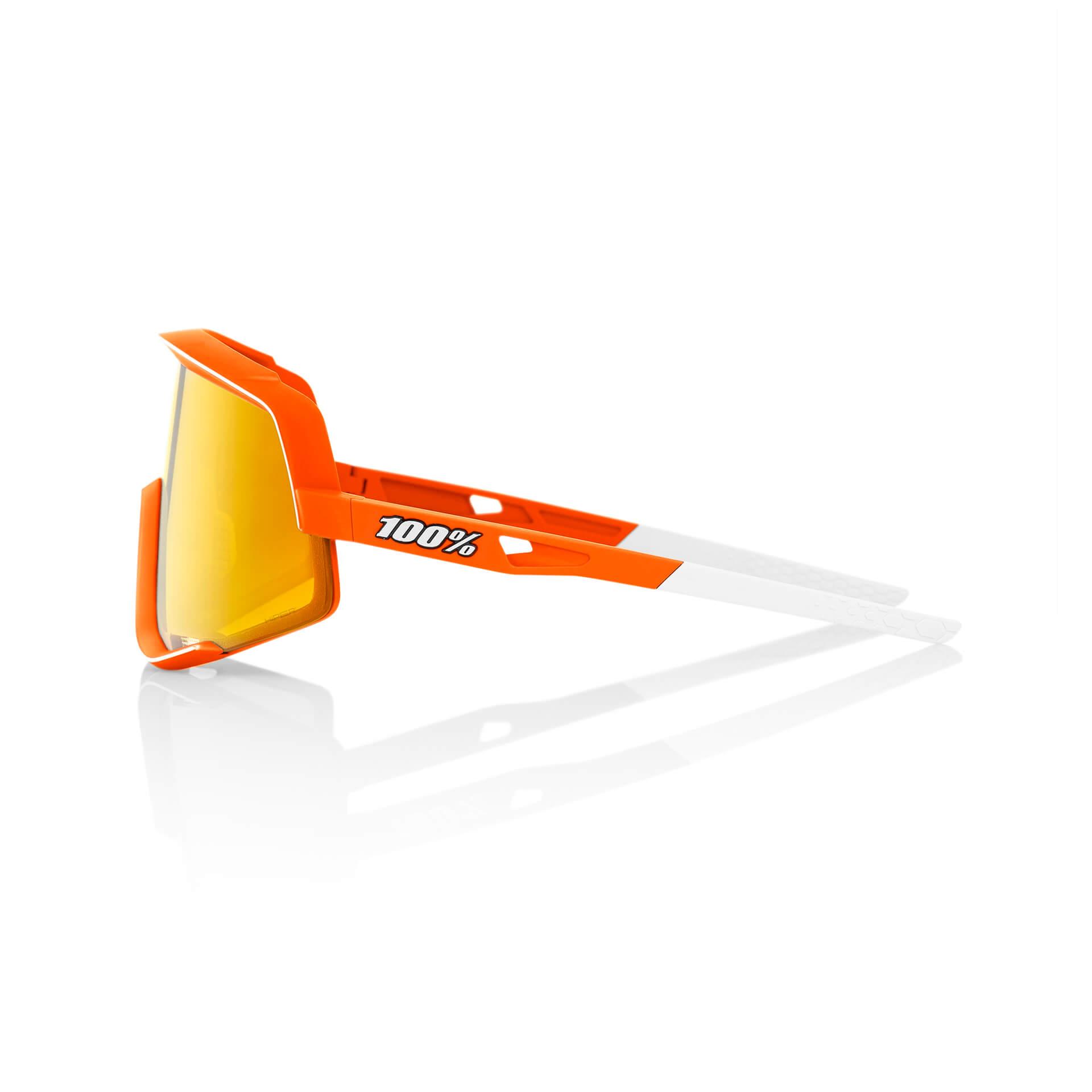 GLENDALE – Soft Tact Neon Orange – HiPER Red Multilayer Mirror Lens