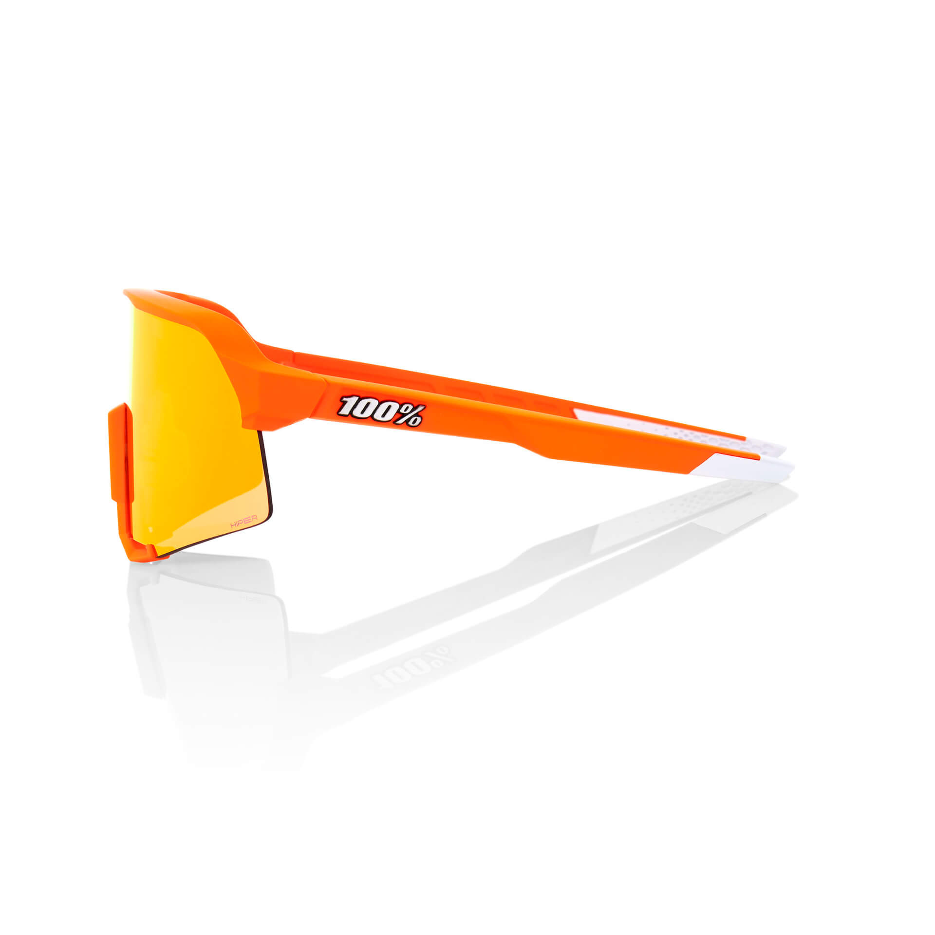 S3 – Soft Tact Neon Orange – HiPER Red Multilayer Mirror Lens