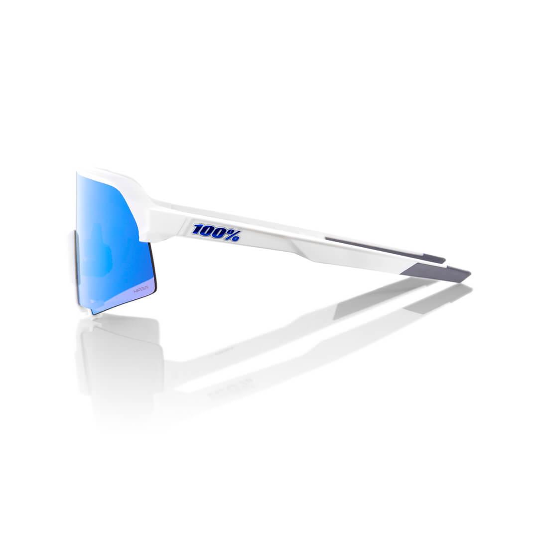 S3 – Matte White – HiPER Blue Multilayer Mirror Lens