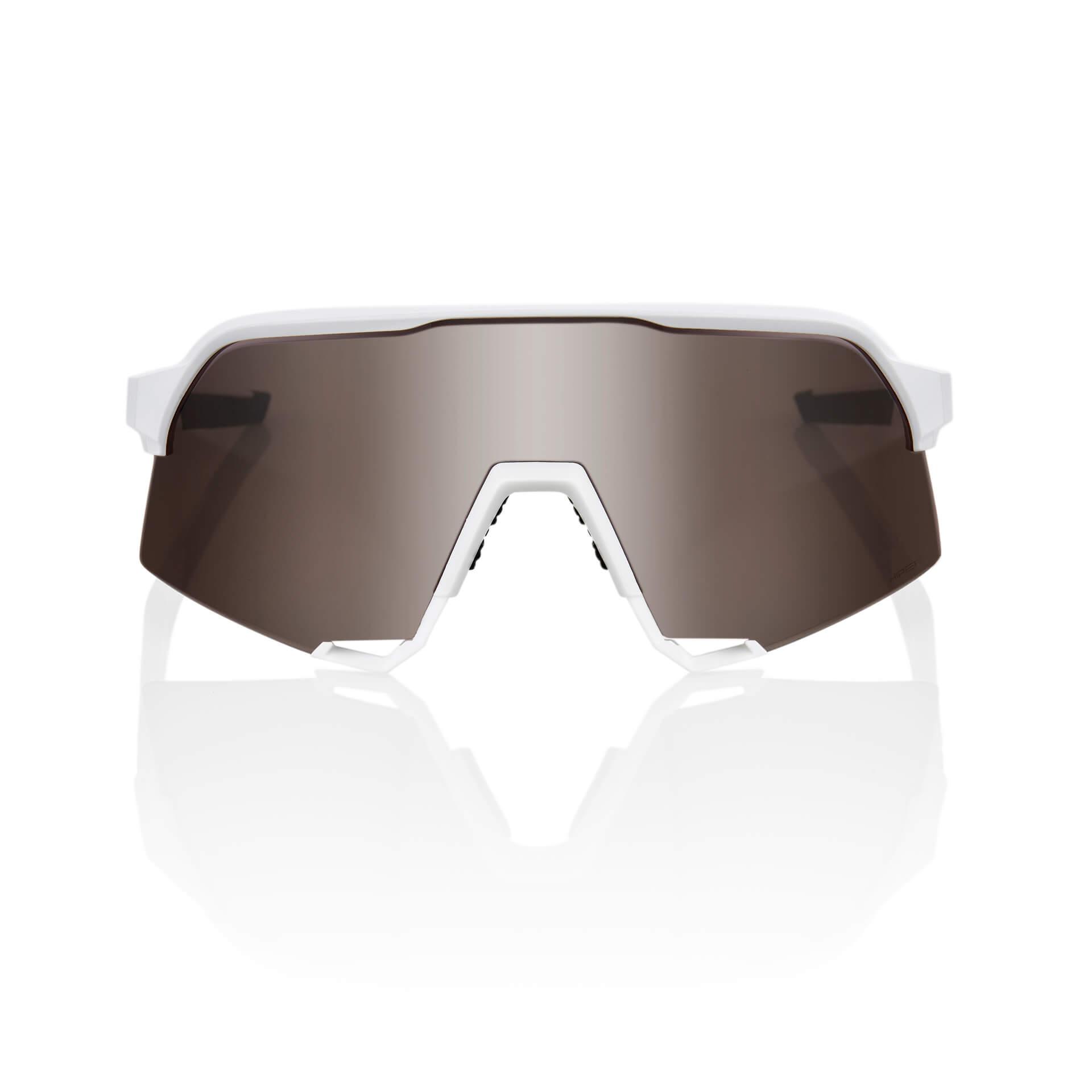 S3 – Matte White – HiPER Silver Mirror Lens