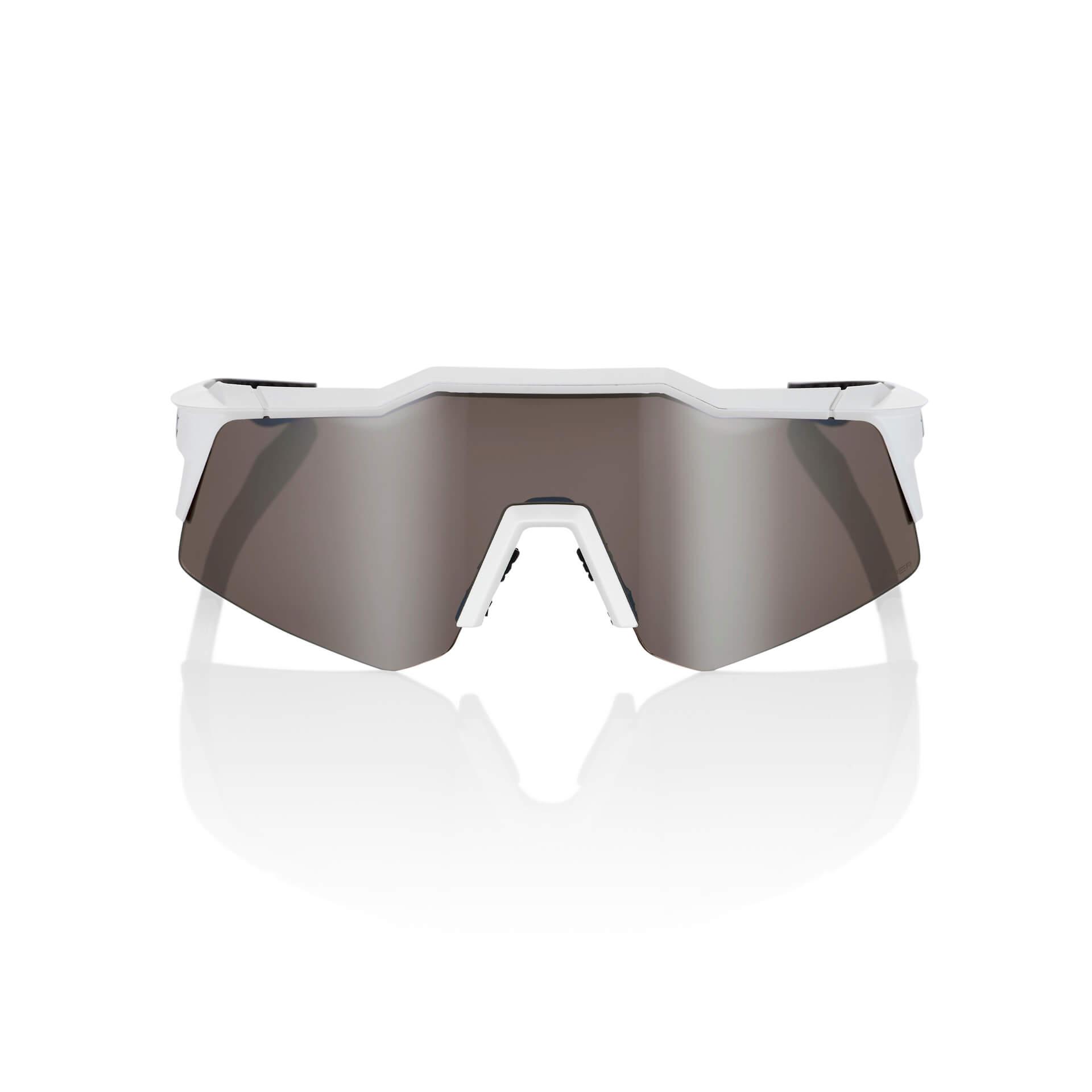 SPEEDCRAFT XS – Matte White – HiPER Silver Mirror Lens