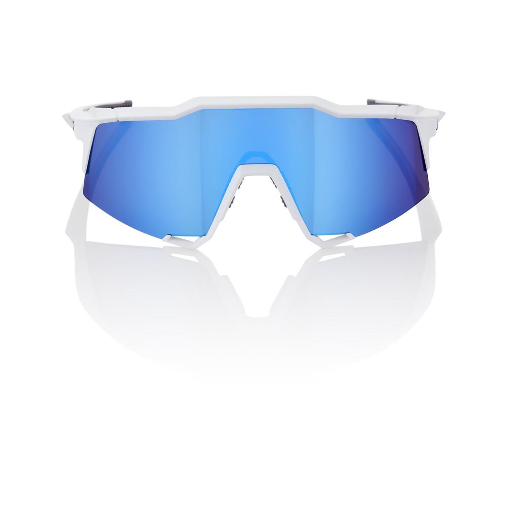 SPEEDCRAFT – Matte White – HiPER Iceberg Blue Mirror Lens