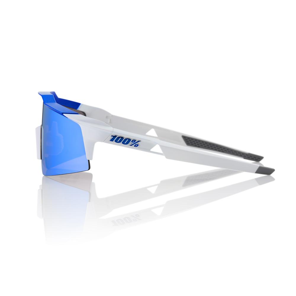 SPEEDCRAFT SL – Matte White / Blue – HiPER Iceberg Blue Mirror Lens