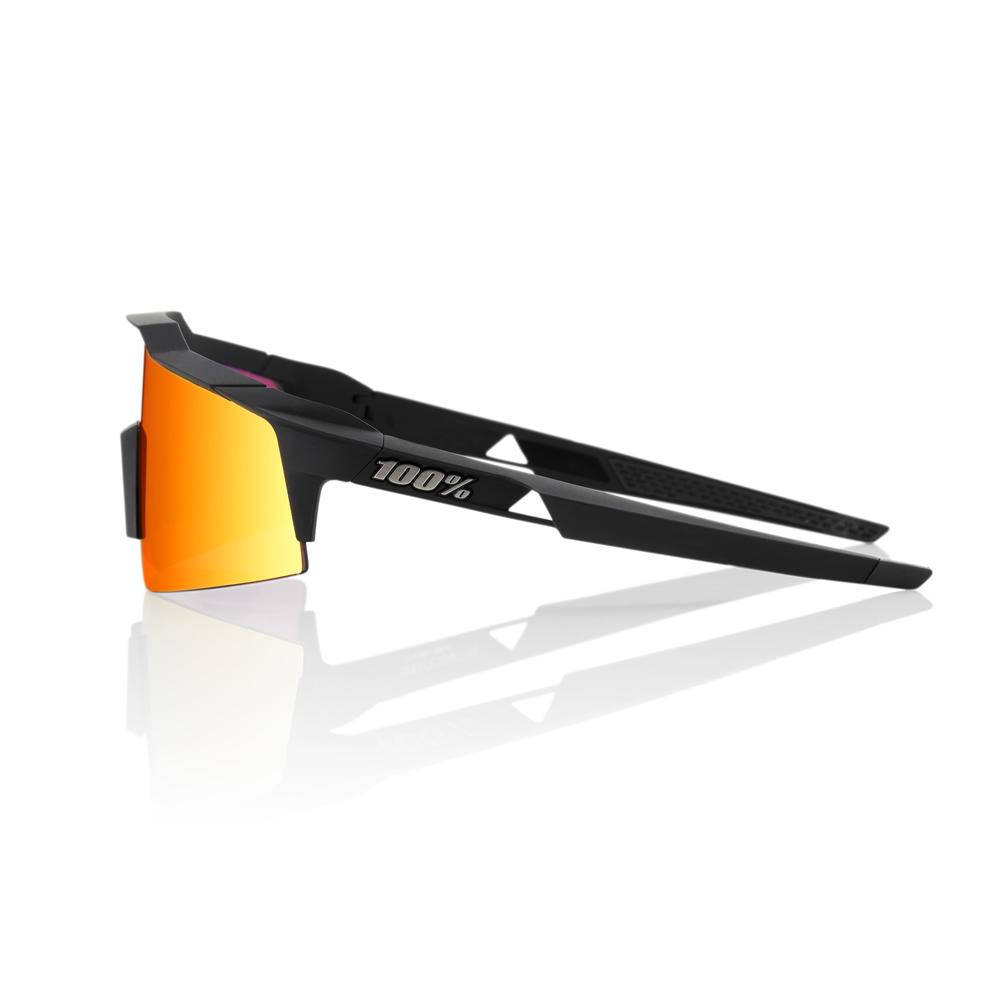 SPEEDCRAFT SL – Soft Tact Black – HiPER Red Multilayer Mirror Lens
