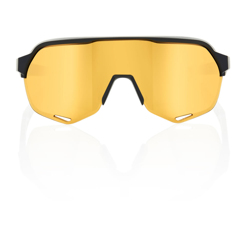 S2 – Matte Black – Flash Gold Lens