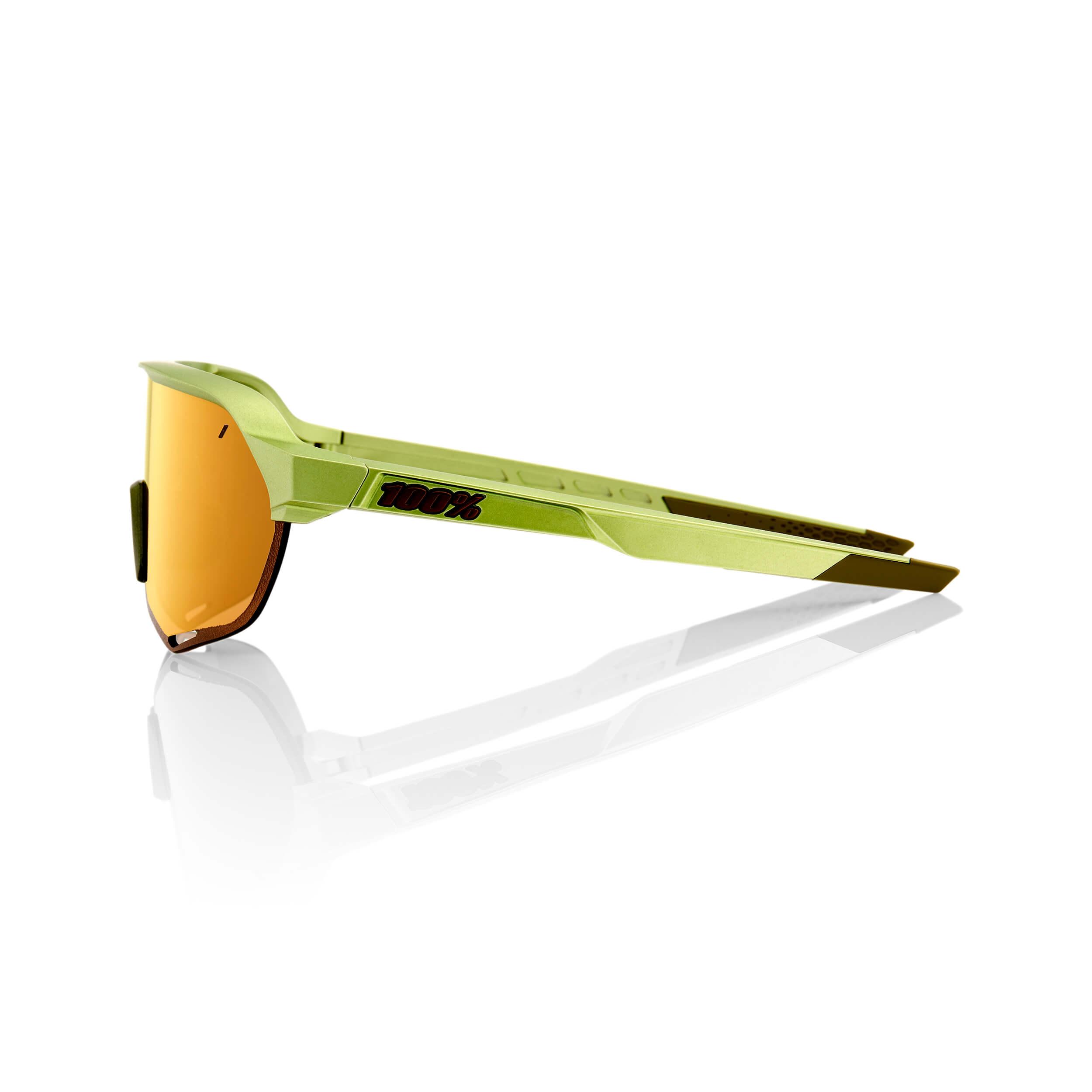 S2 – Matte Metallic Viperidae – Bronze Multilayer Mirror Lens