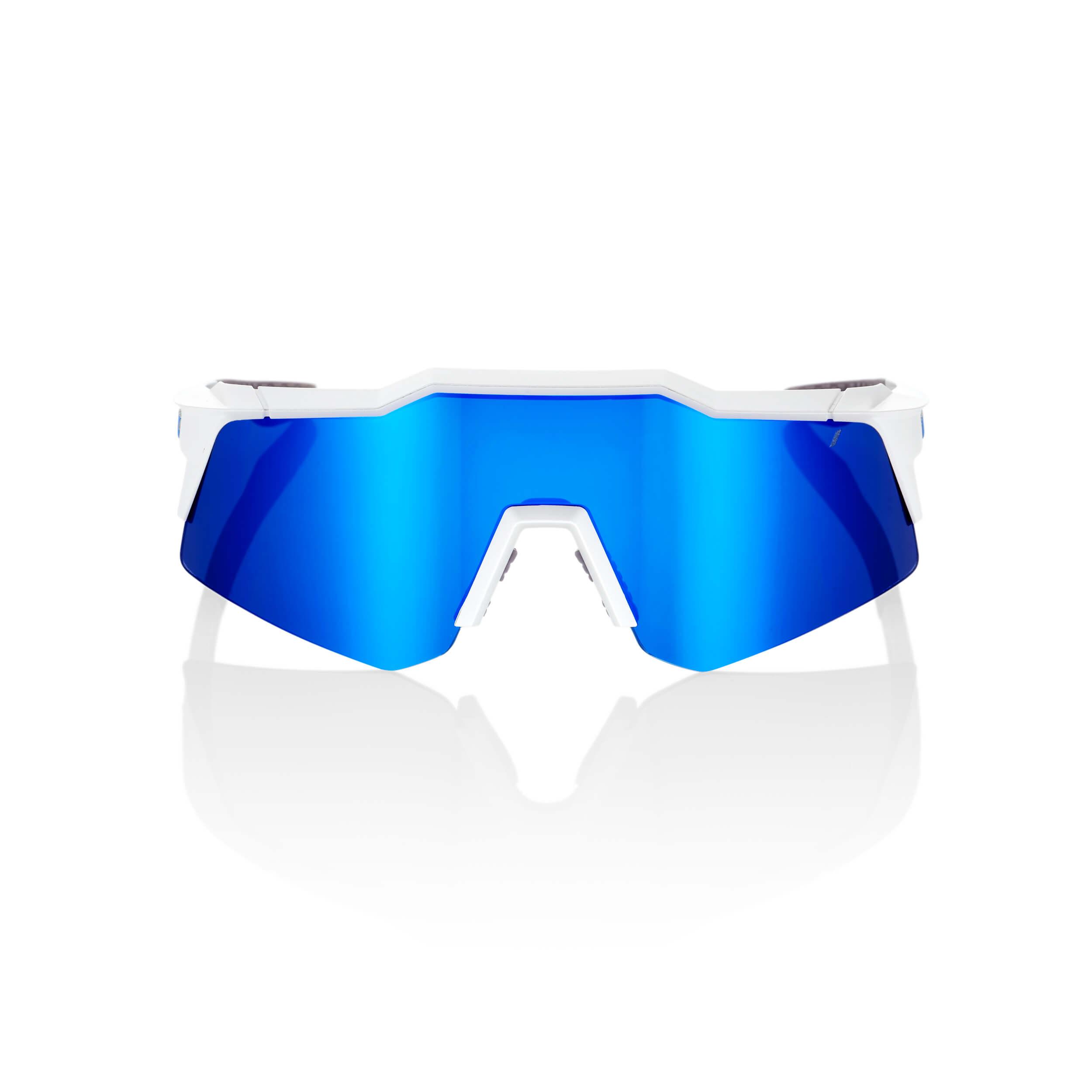 SPEEDCRAFT XS – Matte White – Blue Multilayer Mirror Lens