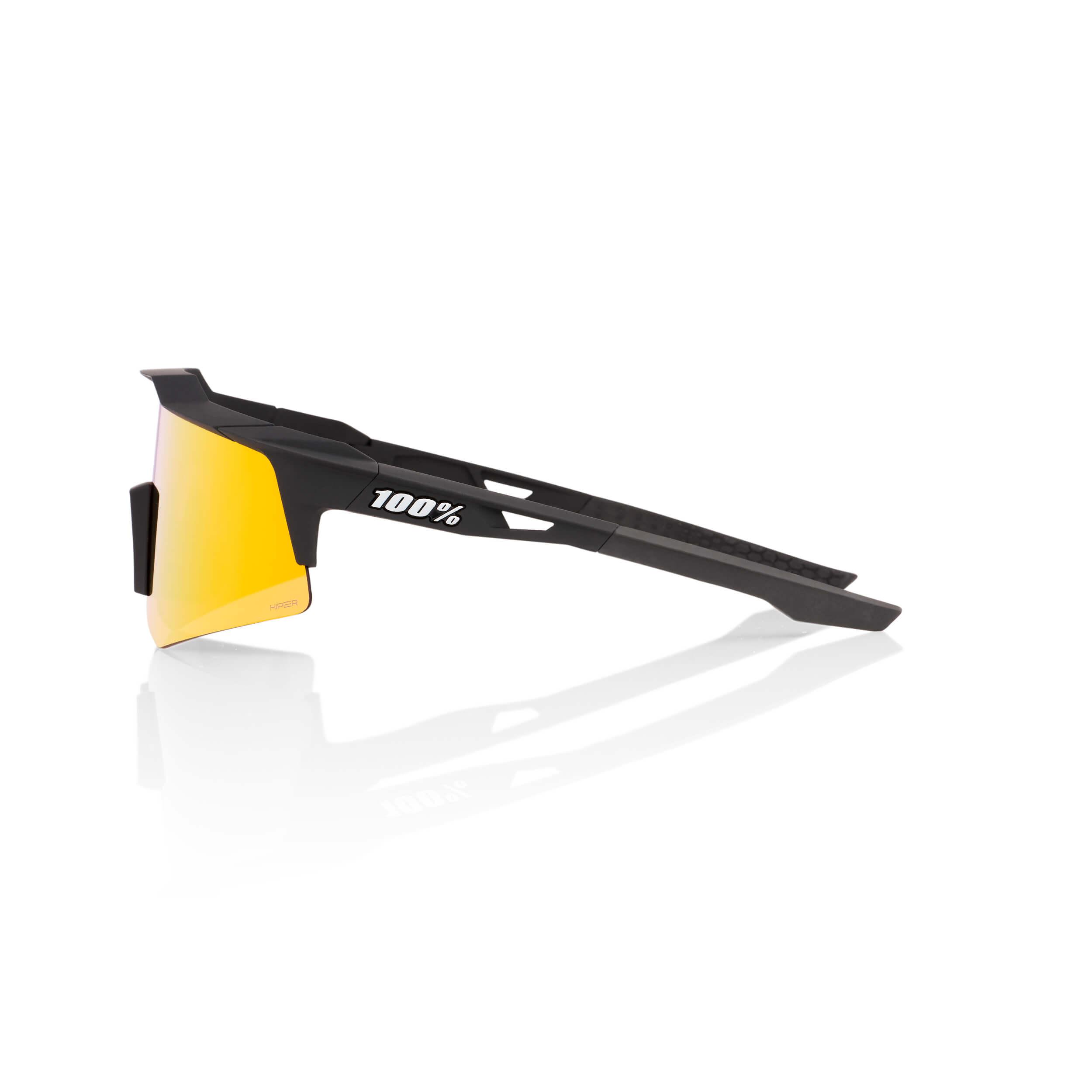 SPEEDCRAFT XS – Soft Tact Black – HiPER Red Multilayer Mirror Lens