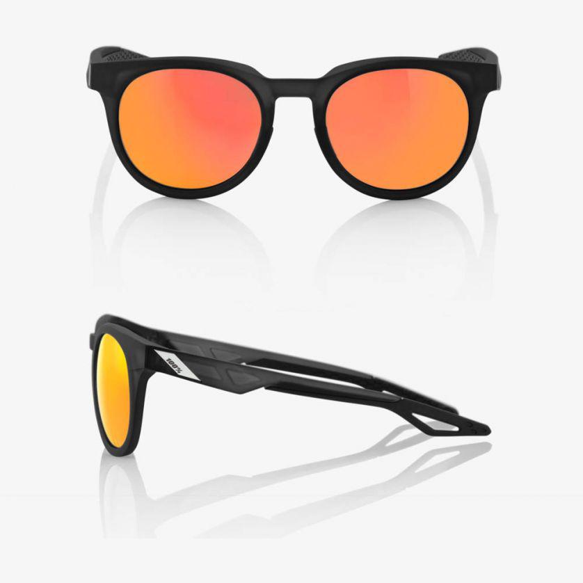 CAMPO – Matte Crystal Black / Red – HiPER Red Multilayer Mirror Lens
