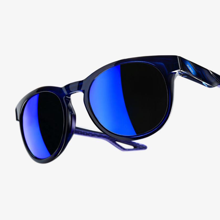CAMPO – Polished Transluscent Blue / Blue – Electric Blue Mirror Lens