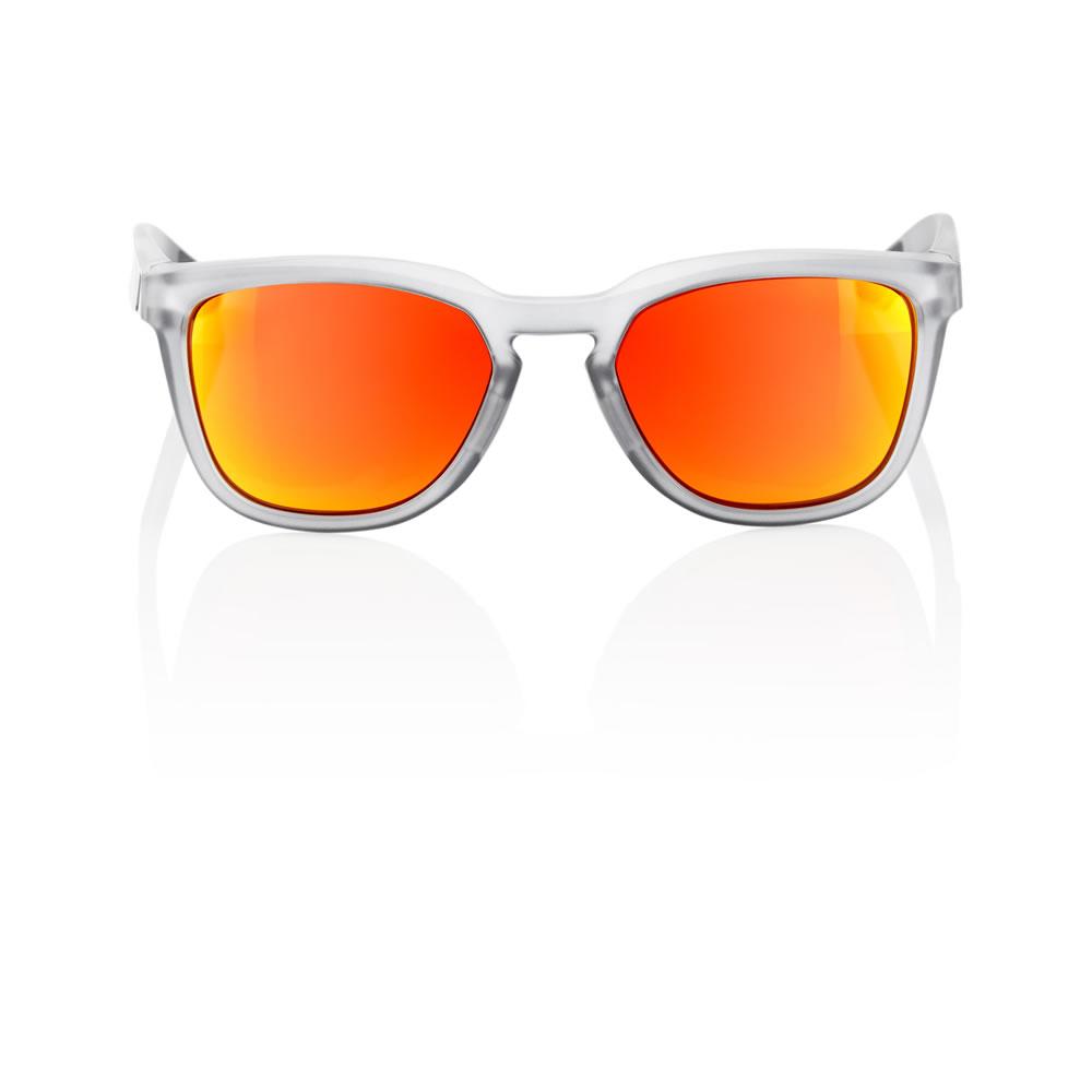 HUDSON – Matte Transluscent Crystal Grey – HiPER Red Multilayer Mirror Lens