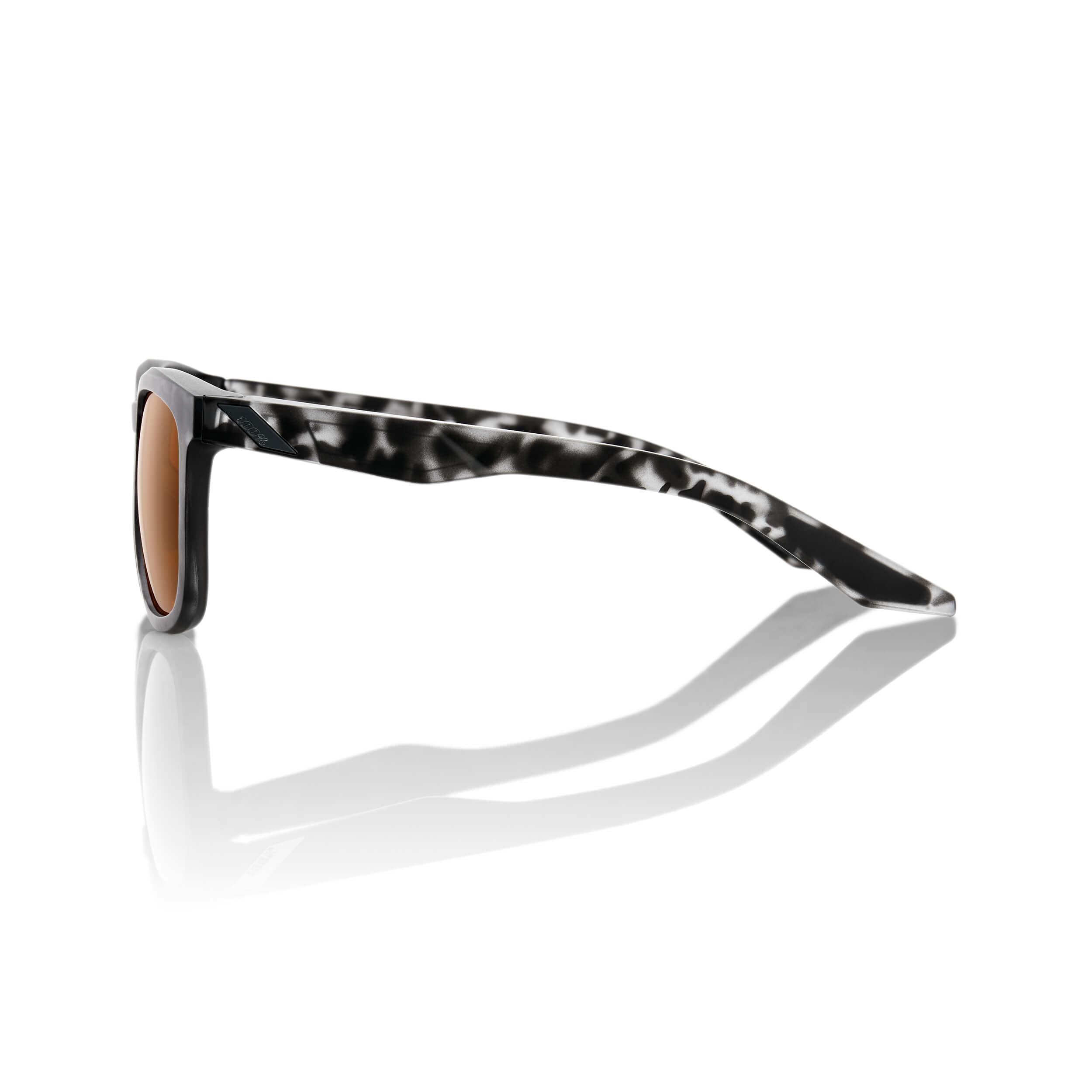 HUDSON – Matte Black Havana – Bronze Lens