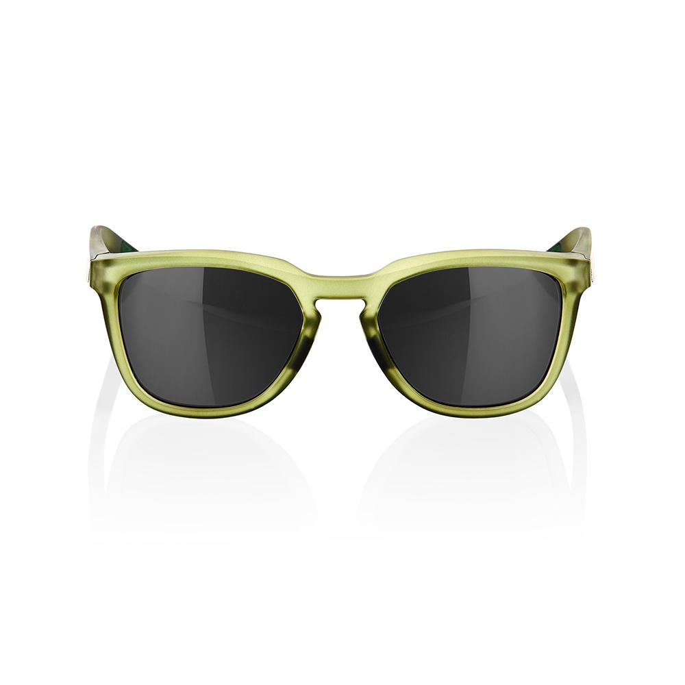 HUDSON – Matte Translucent Olive Slate – Black Mirror Lens