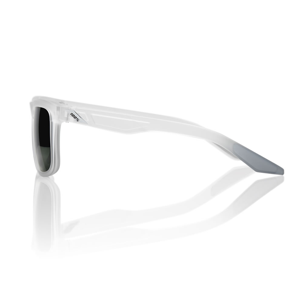 BLAKE – Matte transluscent Crystal Clear – Grey Green Lens