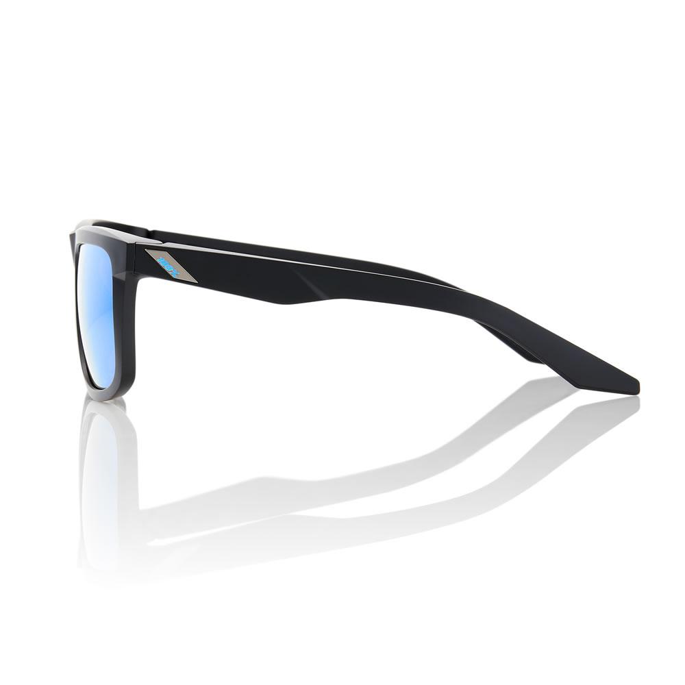 BLAKE – Matte Black – HiPER Iceberg Blue Mirror Lens