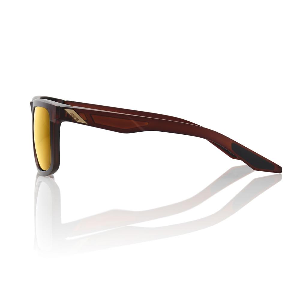 BLAKE – Matte Rootbeer – Flash Gold Lens