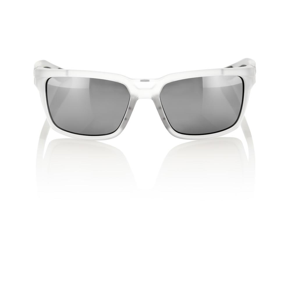 DAZE – Matte Transluscent Crystal Clear – HiPER Sport Silver Mirror Lens