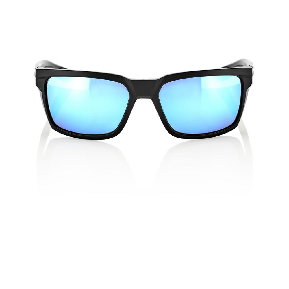 DAZE – Matte Black – HiPER Iceberg Blue Mirror Lens