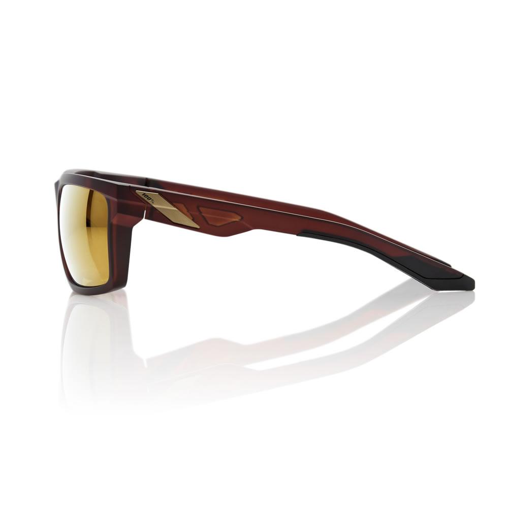 DAZE – Matte Rootbeer – Flash Gold Lens