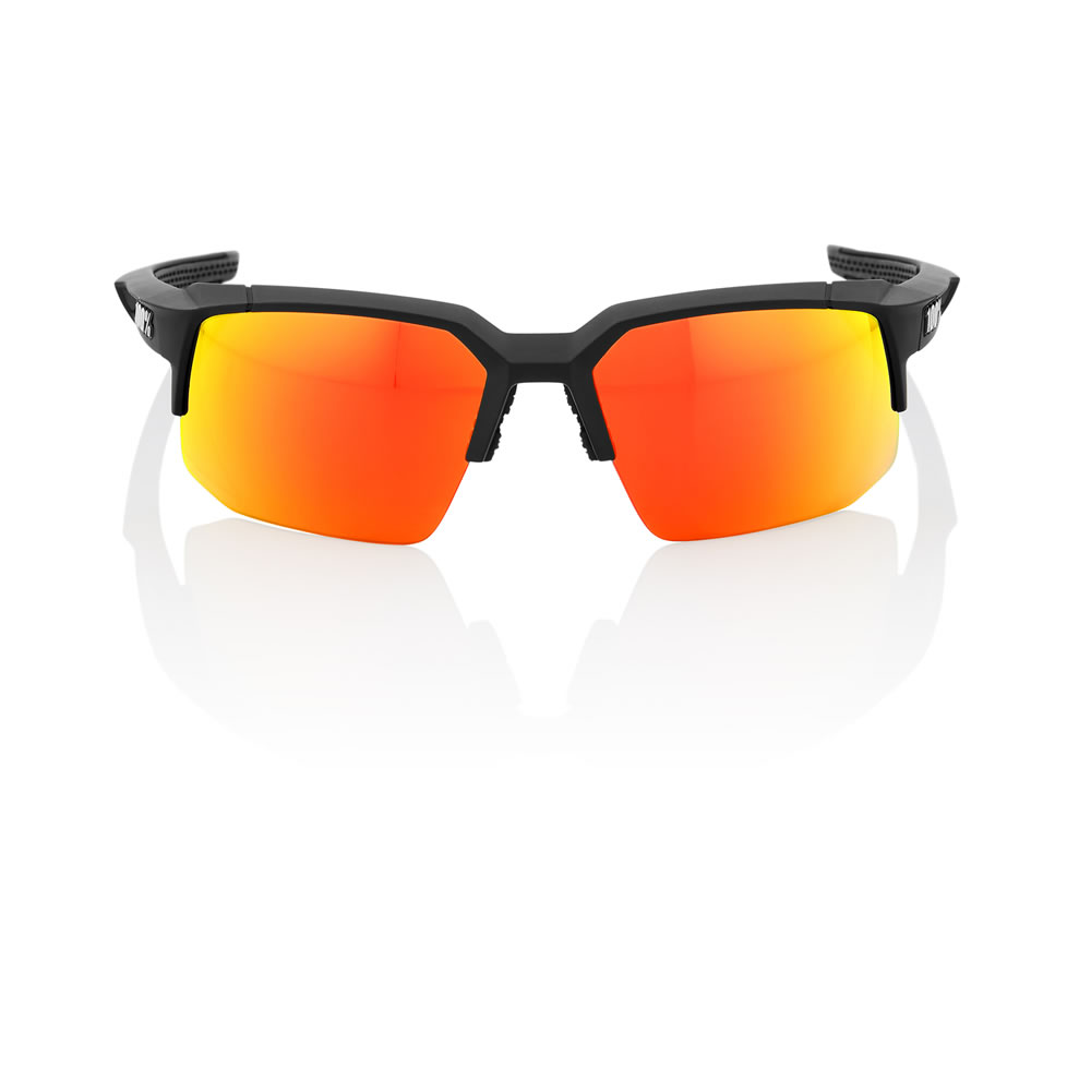 SPEEDCOUPE – Soft Tact Black – HiPER Red Multilayer Mirror Lens