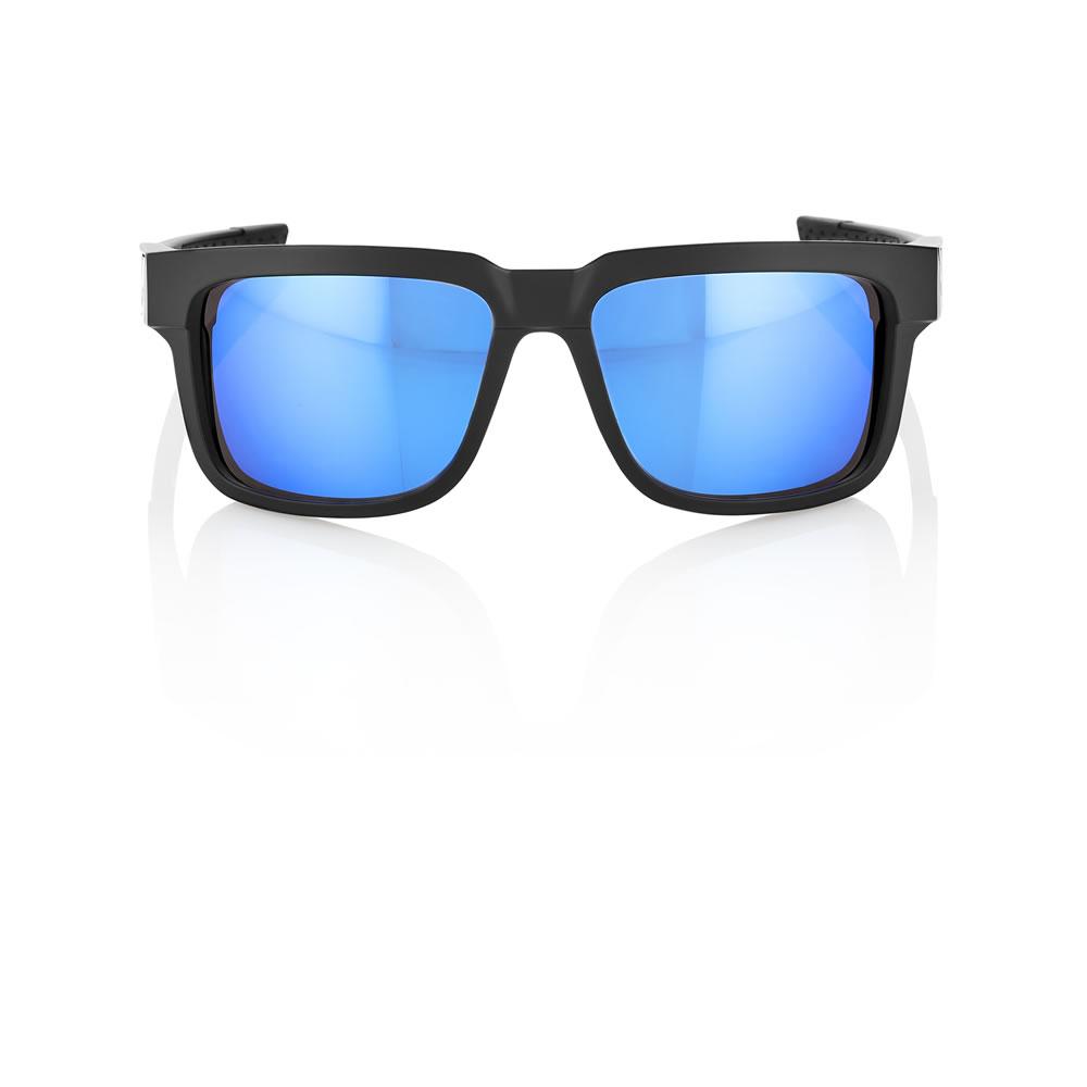 TYPE-S – Matte Black – HiPER Iceberg Blue Mirror Lens