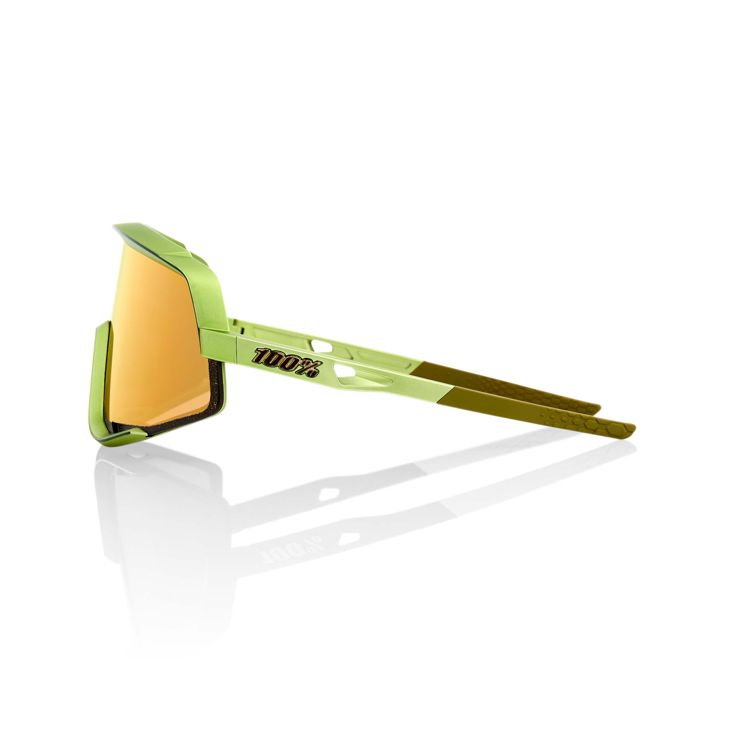 GLENDALE – Matte Metallic Viperidae – Bronze Multilayer Mirror Lens