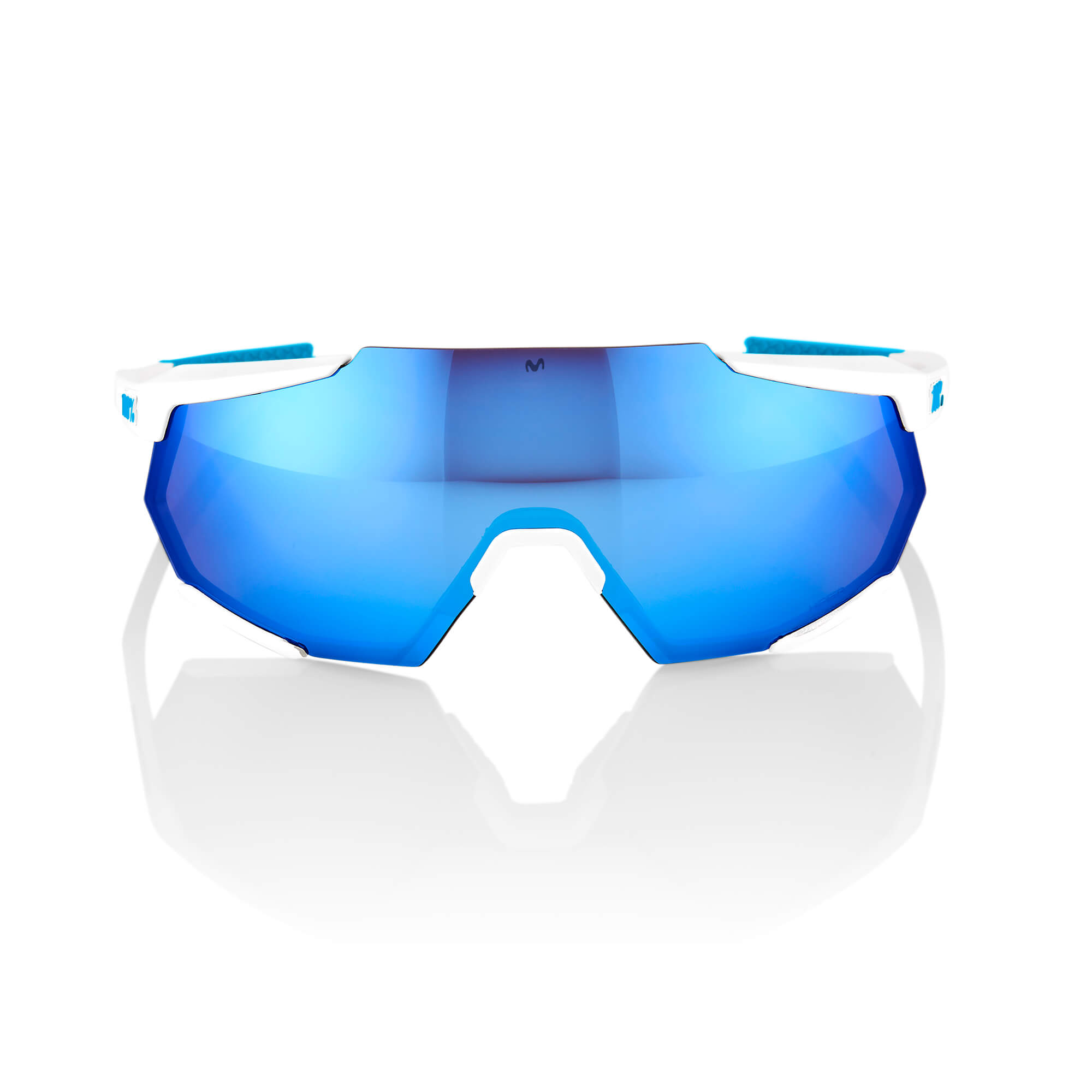 RACETRAP – SE Movistar Team White – HiPER Blue Multilayer Mirror Lens