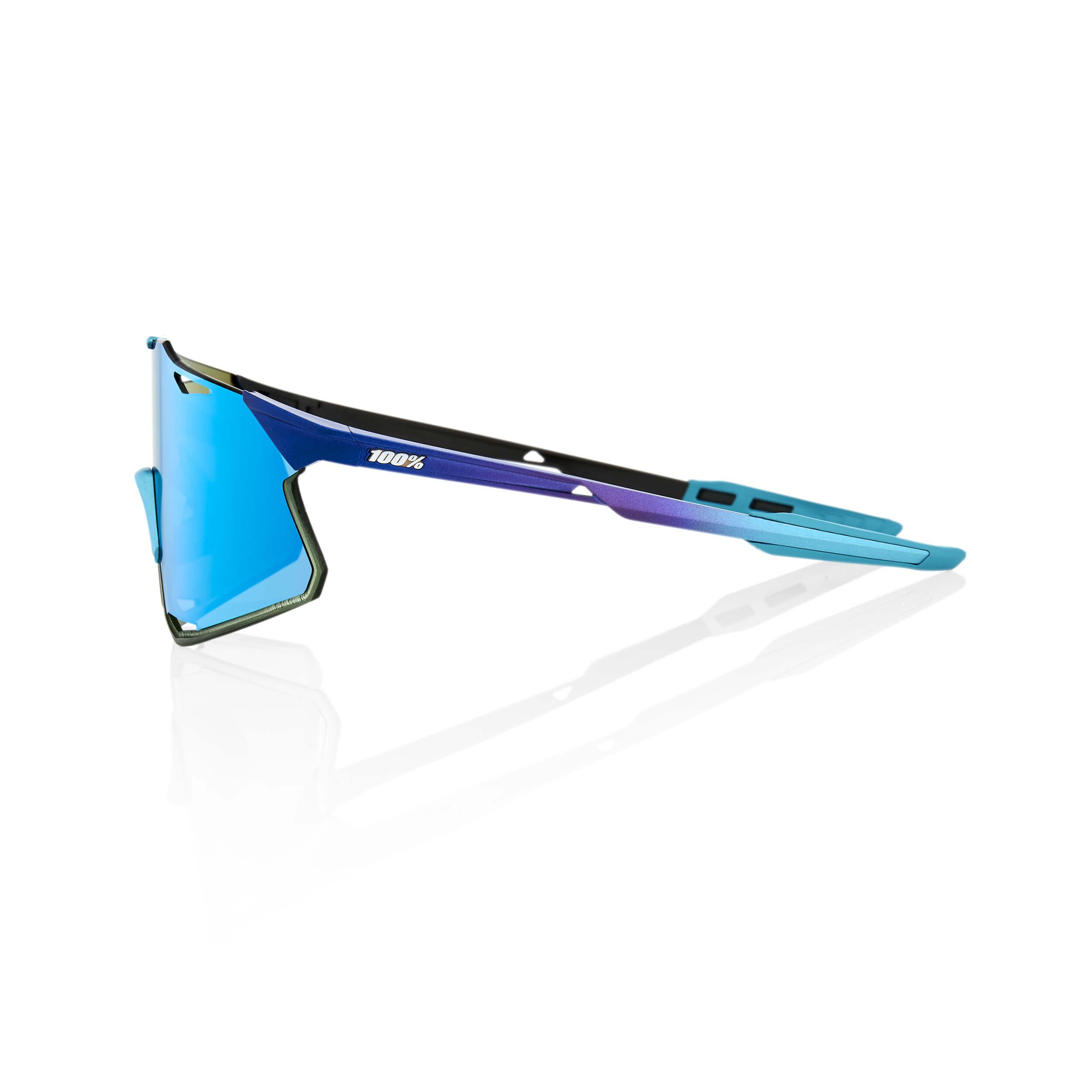 HYPERCRAFT – Matte Metallic Into the Fade – Blue Topaz Multilayer Mirror Lens