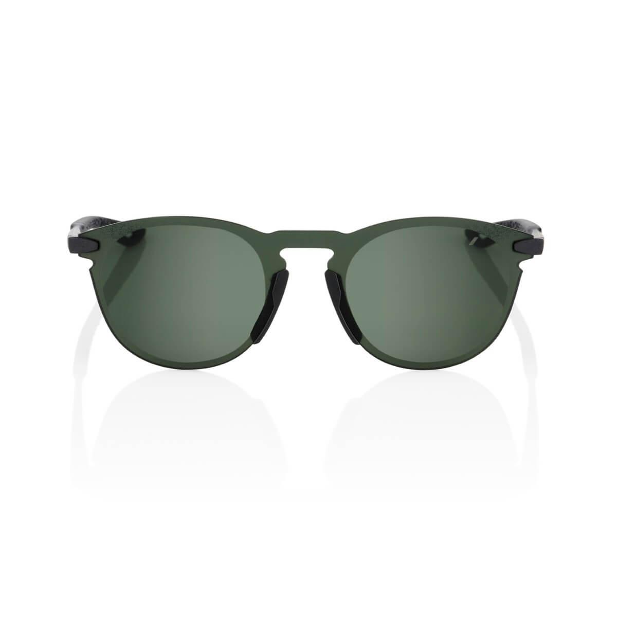 LEGERE Round – Matte Black – Grey Green Lens