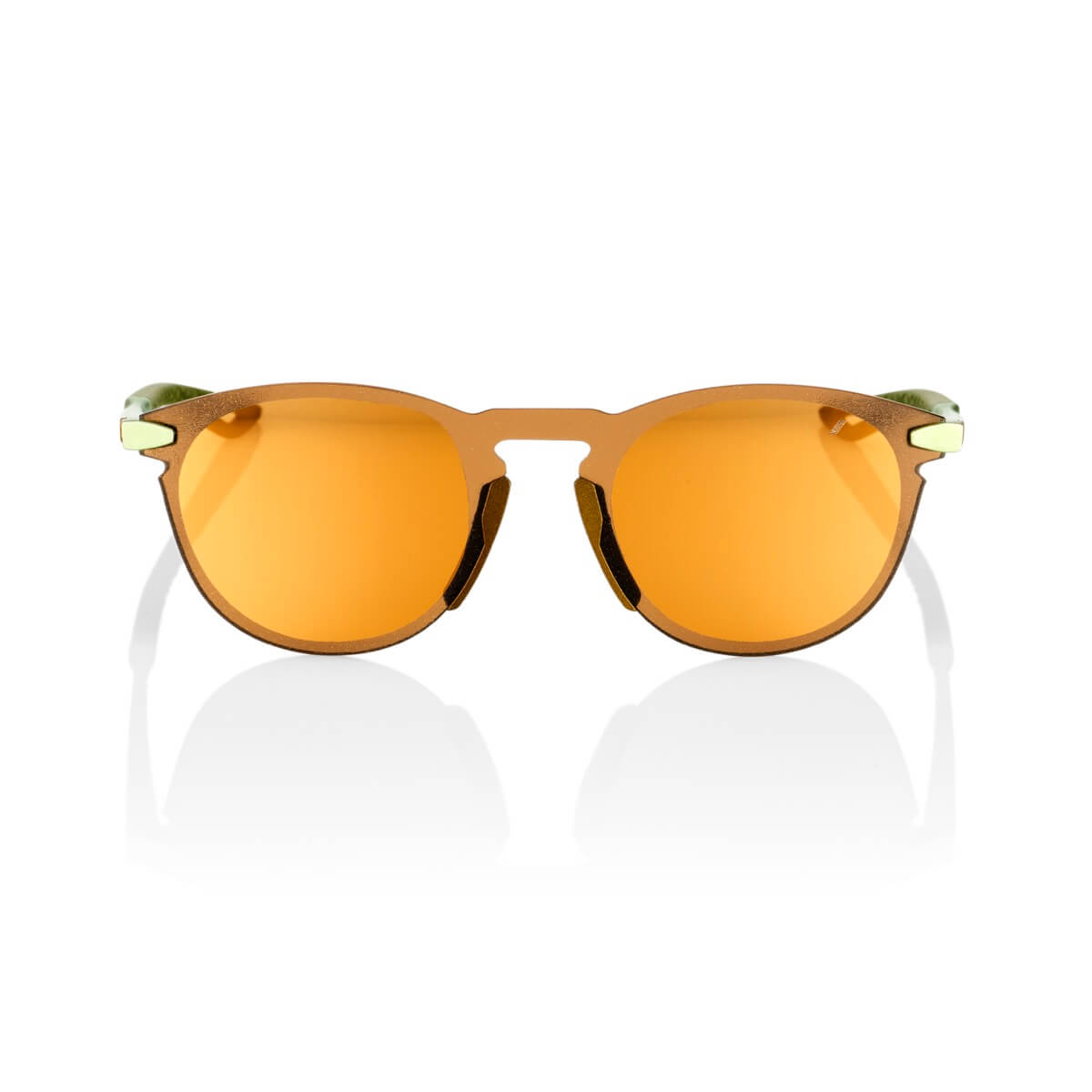 LEGERE Round – Matte Metallic Viperidae – Bronze Multilayer Mirror Lens