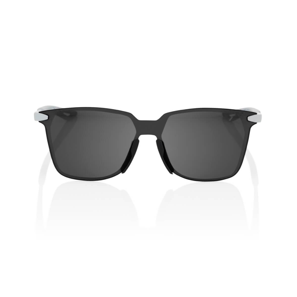 LEGERE Square – Soft Tact Stone Grey – Black Mirror Lens
